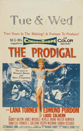 The Prodigal - 27 x 40 Movie Poster - Style C