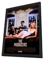 The Producers - 11 x 17 Movie Poster - Style A - in Deluxe Wood Frame