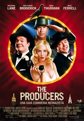 The Producers - 27 x 40 Movie Poster - Italian Style A