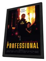 The Professional - 11 x 17 Movie Poster - Style A - in Deluxe Wood Frame
