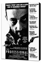 The Professional - 11 x 17 Movie Poster - Style E - Museum Wrapped Canvas
