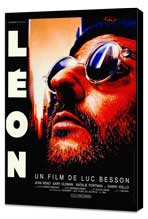 The Professional - 27 x 40 Movie Poster - French Style A - Museum Wrapped Canvas