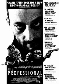 The Professional - 11 x 17 Movie Poster - Style E