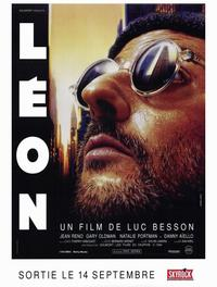 The Professional - 47 x 62 Movie Poster - French Style A