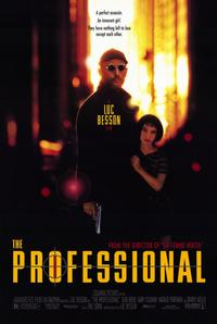 The Professional - 11 x 17 Movie Poster - Style A - Museum Wrapped Canvas