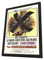 The Professionals - 11 x 17 Movie Poster - Style B - in Deluxe Wood Frame