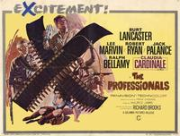 The Professionals - 11 x 14 Movie Poster - Style I