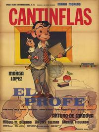 The Professor - 11 x 17 Movie Poster - Spanish Style A