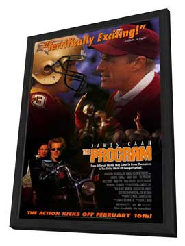 The Program - 27 x 40 Movie Poster - Style A - in Deluxe Wood Frame