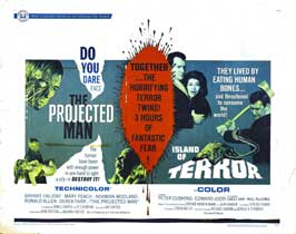 The Projected Man - 30 x 40 Movie Poster UK - Style A