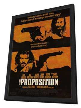 The Proposition - 27 x 40 Movie Poster - Style D - in Deluxe Wood Frame