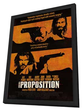 The Proposition - 11 x 17 Movie Poster - Style D - in Deluxe Wood Frame