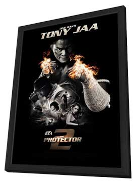 The Protector 2 - 11 x 17 Movie Poster - Style A - in Deluxe Wood Frame