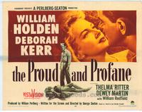 Proud and Profane - 22 x 28 Movie Poster - Half Sheet Style A