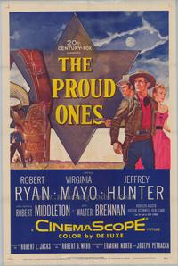 The Proud Ones - 27 x 40 Movie Poster - Style A