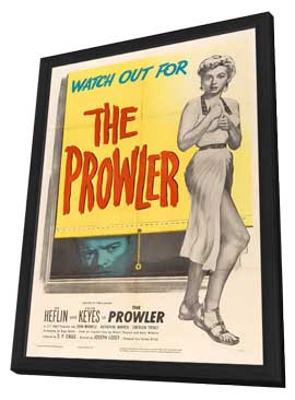 The Prowler - 11 x 17 Movie Poster - Style B - in Deluxe Wood Frame