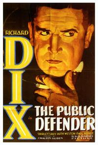 The Public Defender - 27 x 40 Movie Poster - Style A