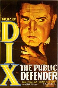 The Public Defender - 43 x 62 Movie Poster - Bus Shelter Style A
