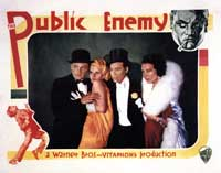 The Public Enemy - 22 x 28 Movie Poster - Half Sheet Style B