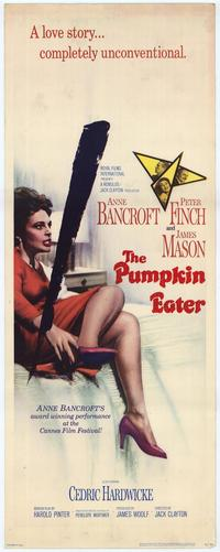 The Pumpkin Eater - 14 x 36 Movie Poster - Insert Style A