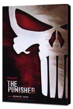 The Punisher - 11 x 17 Movie Poster - Style B - Museum Wrapped Canvas