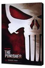 The Punisher - 27 x 40 Movie Poster - Style B - Museum Wrapped Canvas