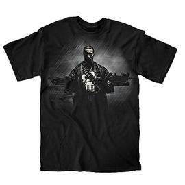 The Punisher - Two Guns, No Waiting Black T-Shirt