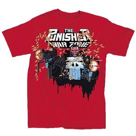 The Punisher - War Zone Red T-Shirt