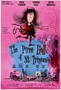 The Pure Hell of St. Trinian's - 11 x 17 Movie Poster - Style A