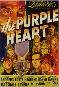 The Purple Heart - 11 x 17 Movie Poster - Style A