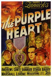 The Purple Heart - 27 x 40 Movie Poster - Style A