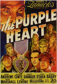 The Purple Heart - 43 x 62 Movie Poster - Bus Shelter Style A