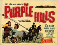 Purple Hills - 11 x 14 Movie Poster - Style A