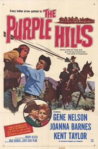Purple Hills - 11 x 17 Movie Poster - Style A