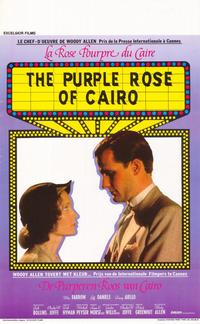 The Purple Rose of Cairo - 11 x 17 Movie Poster - Belgian Style A