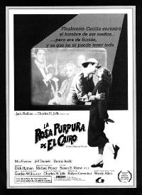 The Purple Rose of Cairo - 27 x 40 Movie Poster - Spanish Style A