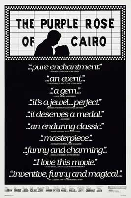 The Purple Rose of Cairo - 27 x 40 Movie Poster - Style B