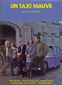 The Purple Taxi - 11 x 17 Movie Poster - French Style A