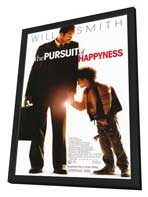 The Pursuit of Happyness - 27 x 40 Movie Poster - Style A - in Deluxe Wood Frame