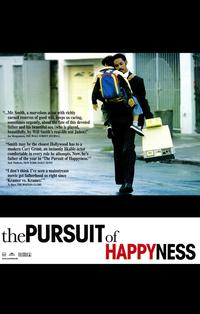 The Pursuit of Happyness - 11 x 17 Movie Poster - Style B