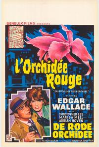 The Puzzle of the Red Orchid - 11 x 17 Movie Poster - Belgian Style A