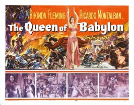 The Queen of Babylon - 22 x 28 Movie Poster - Half Sheet Style A