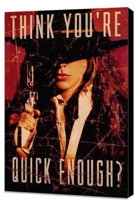 The Quick and the Dead - 27 x 40 Movie Poster - Style C - Museum Wrapped Canvas