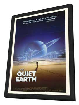 The Quiet Earth - 27 x 40 Movie Poster - Style A - in Deluxe Wood Frame