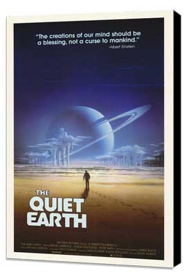 The Quiet Earth - 27 x 40 Movie Poster - Style A - Museum Wrapped Canvas