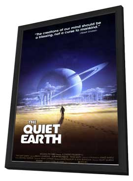 The Quiet Earth - 11 x 17 Movie Poster - Style A - in Deluxe Wood Frame