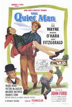 The Quiet Man - 27 x 40 Movie Poster - Style A