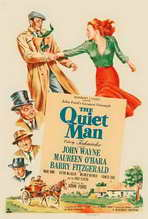 The Quiet Man - 27 x 40 Movie Poster - Style E