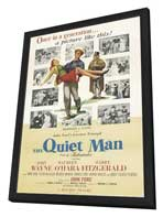 The Quiet Man - 27 x 40 Movie Poster - Style C - in Deluxe Wood Frame