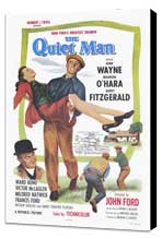 The Quiet Man - 27 x 40 Movie Poster - Style A - Museum Wrapped Canvas